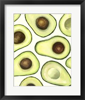 Framed Avocado Arrangement I