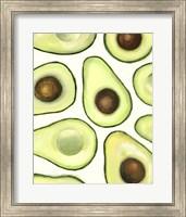 Framed Avocado Arrangement II