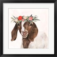 Framed Garden Goat II