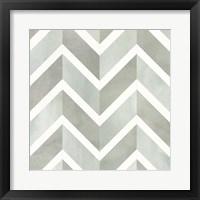 Framed Seaglass Tiles IV