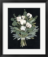Framed Cut Paper Bouquet I