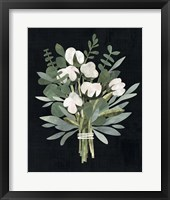 Framed Cut Paper Bouquet II