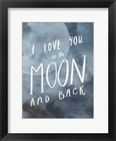 Framed Celestial Love III