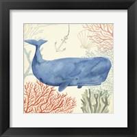 Framed Underwater Whimsy I
