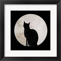 Framed Mystic Moon I