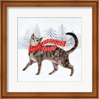 Framed Christmas Cats & Dogs I