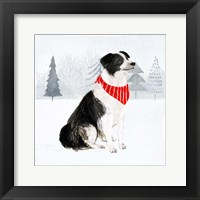 Christmas Cats & Dogs II Framed Print