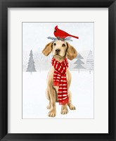 Christmas Cats & Dogs V Framed Print