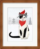 Framed Christmas Cats & Dogs VI