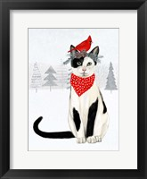 Framed Christmas Cats & Dogs VI