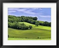 Framed Pastoral Countryside II