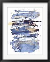 Framed Blue Rapture I