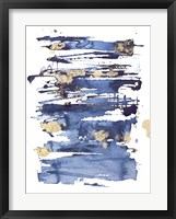 Framed Blue Rapture II