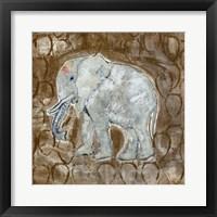 Framed Global Elephant II