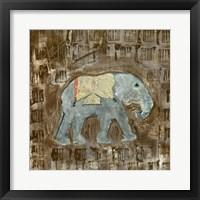 Framed Global Elephant III