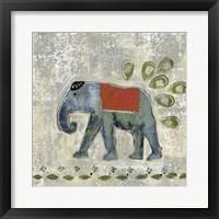 Framed Global Elephant IV