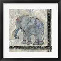 Framed Global Elephant V