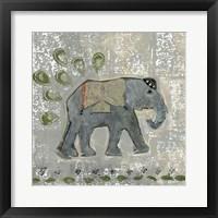 Framed Global Elephant VI