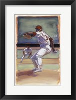 Framed Baseball I
