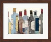 Framed Wine & Spirit II