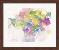 Framed Floral Moment I
