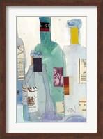 Framed Wine Bottles II