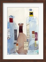 Framed Wine Bottles IV