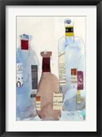 The Wine Bottles IV Framed Print