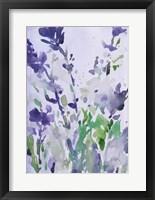 Framed Violet Garden Moment I