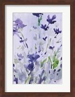 Framed Violet Garden Moment II