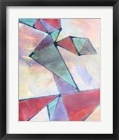 Framed Lucent Shards I