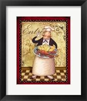 Framed Chefs Bon Appetit III