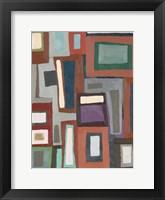 Framed Color Blocking I