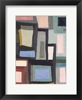 Framed Color Blocking III
