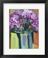 Framed Violet Spring Flowers IV
