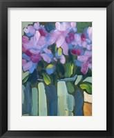 Framed Violet Spring Flowers V