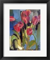 Framed Painterly Tulips II