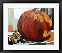 Framed Pumpkin Still Life I