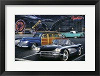 Framed Diners and Cars III