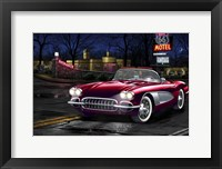 Framed Diners and Cars V