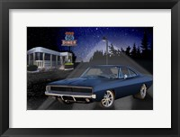 Framed Diners and Cars VI