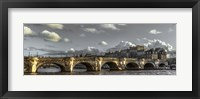 Framed Pont Neuf Paris Black/White