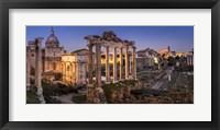 Framed Forum Romanum Rome