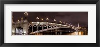 Framed Paris Bridge 3