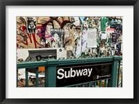 Framed Williamsburg New York