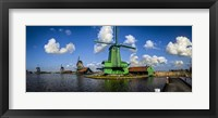 Framed Dutch Windmills