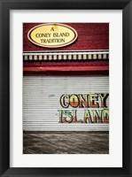 Framed Coney Island New York