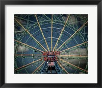 Framed Wonder wheel  New York