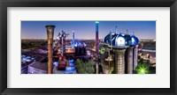 Framed Duisburg Industry Germany 5