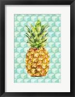 Framed Modern Pineaple 4